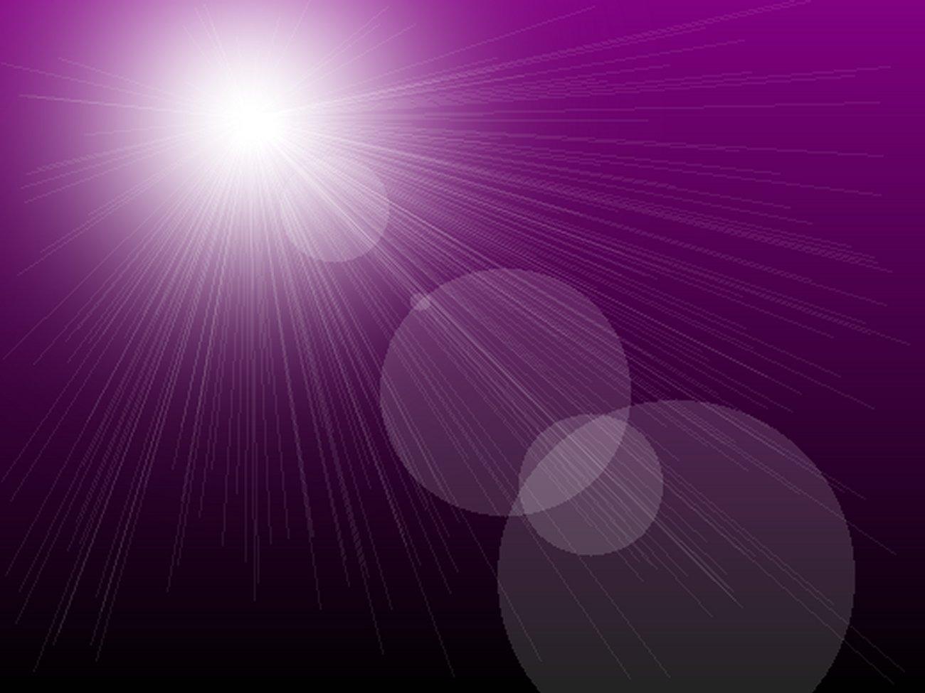 sunburst purple gradient